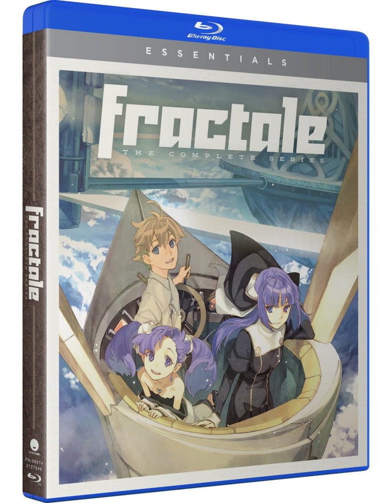 Funimation Entertainment Fractale Essentials Blu-Ray