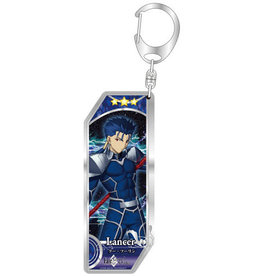 Bellfine Fate/Grand Order Vertical Keychain Lancer Class