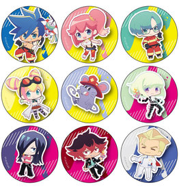 Contents Seed Promare PuniChara Trading Can Badge