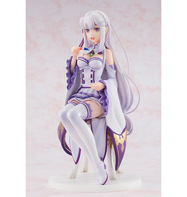 Kadokawa Emilia Tea Party Vers. Re:Zero Figure Kadokawa
