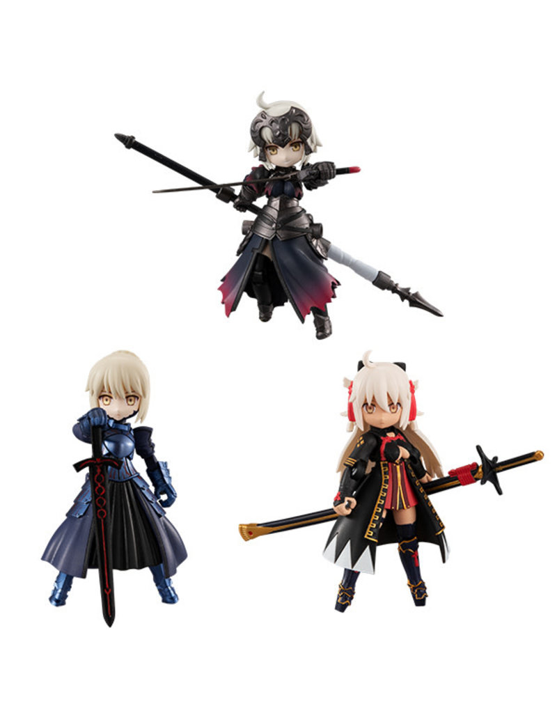 Megahouse Fate Grand Order Desktop Army Vol. 19 (Jeanne Alter/Saber Alter/Soji Okita Alter)
