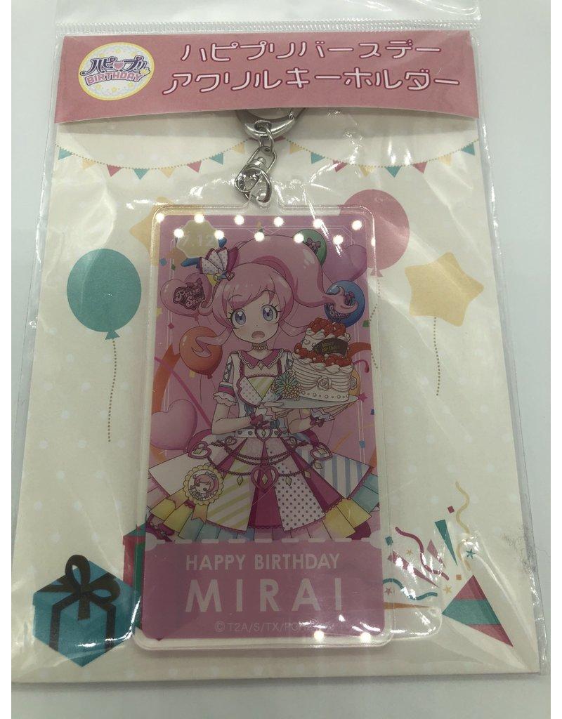 Mirai Momoyama Kiratto Prichan Birthday Large Keychain