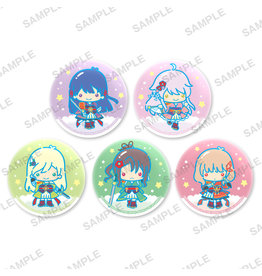 Bushiroad Revue Starlight x Sanrio Little Twin Stars Can Badge Rinmeikan Girls School