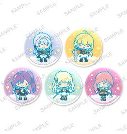 Bushiroad Revue Starlight x Sanrio Little Twin Stars Can Badge Siegfeld