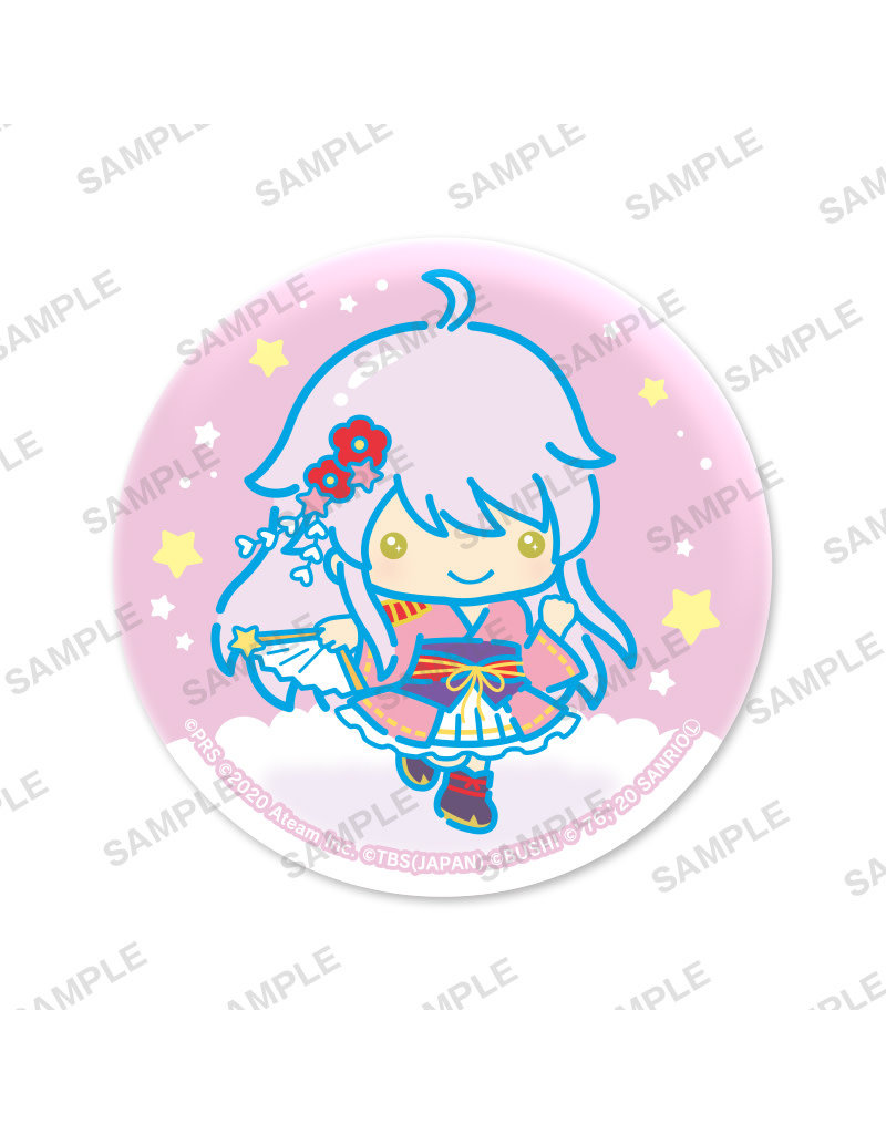 Bushiroad Revue Starlight x Sanrio Little Twin Stars Can Badge Rinmeikan