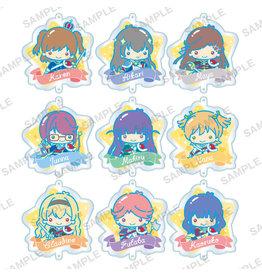 Bushiroad Revue Starlight x Sanrio Little Twin Stars Keychain Seisho Music Academy
