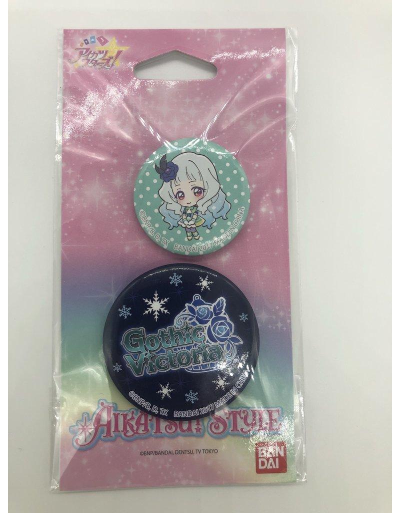 Aikatsu Style Can Badge Set