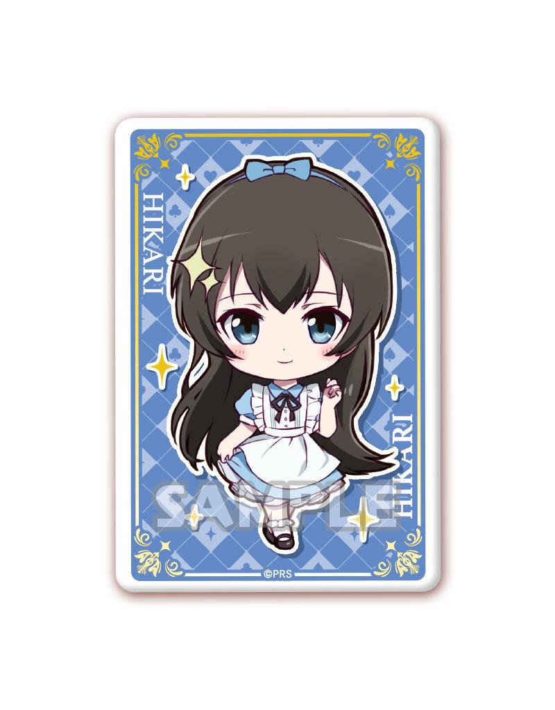 Bushiroad Revue Starlight Alice in Wonderland Square Badge