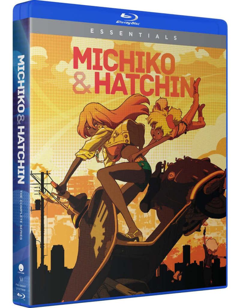 Funimation Entertainment Michiko And Hatchin Complete Series Essentials Blu-Ray