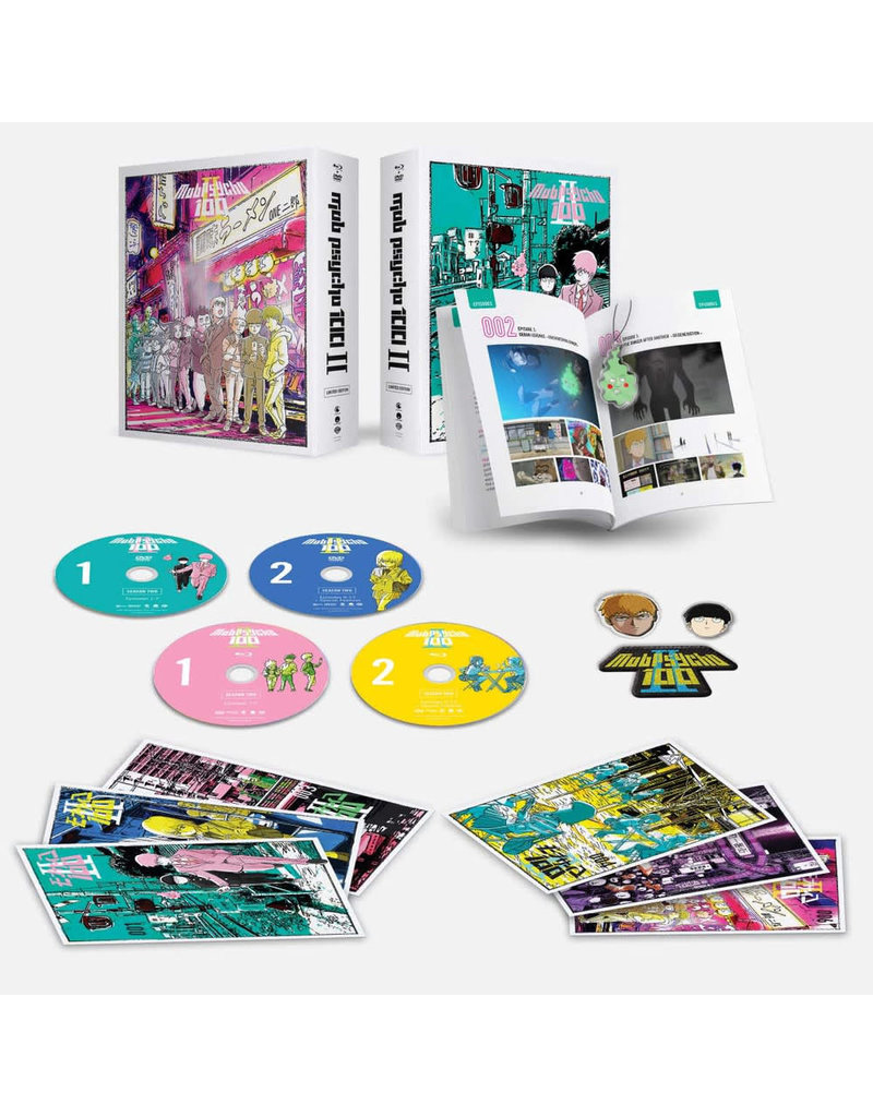 Funimation Entertainment Mob Psycho 100 II Limited Edition Blu-Ray/DVD
