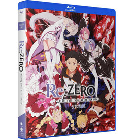 Funimation Entertainment Re:ZERO Starting Life In Another World Season 1 Blu-Ray