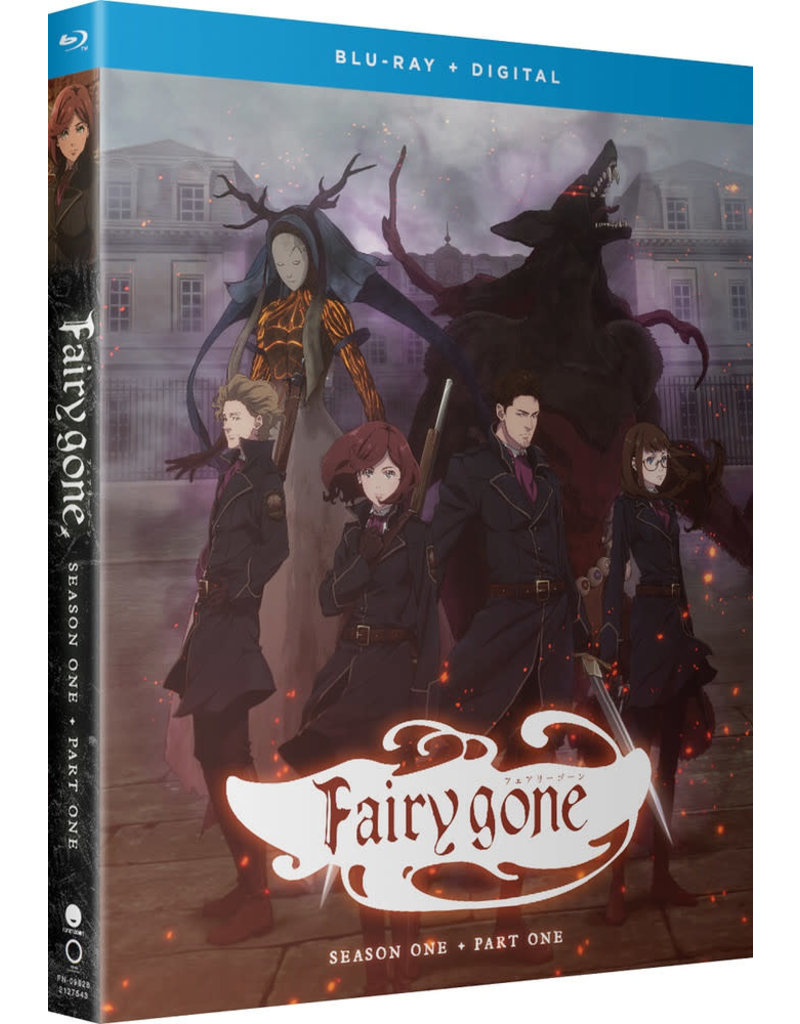 Funimation Entertainment Fairy Gone Season 1 Part 1 Blu-Ray