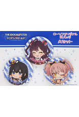 Lawsons Idolm@ster Cinderella Girls Can Badge Set A (Fumika/Shiki/Mika)