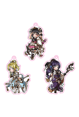 Love Live! x GBF Acrylic Keychain Set (3rd Years)