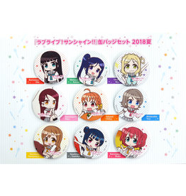 Kadokawa Love Live! Sunshine!! Aqours Can Badge Set 2018 C94