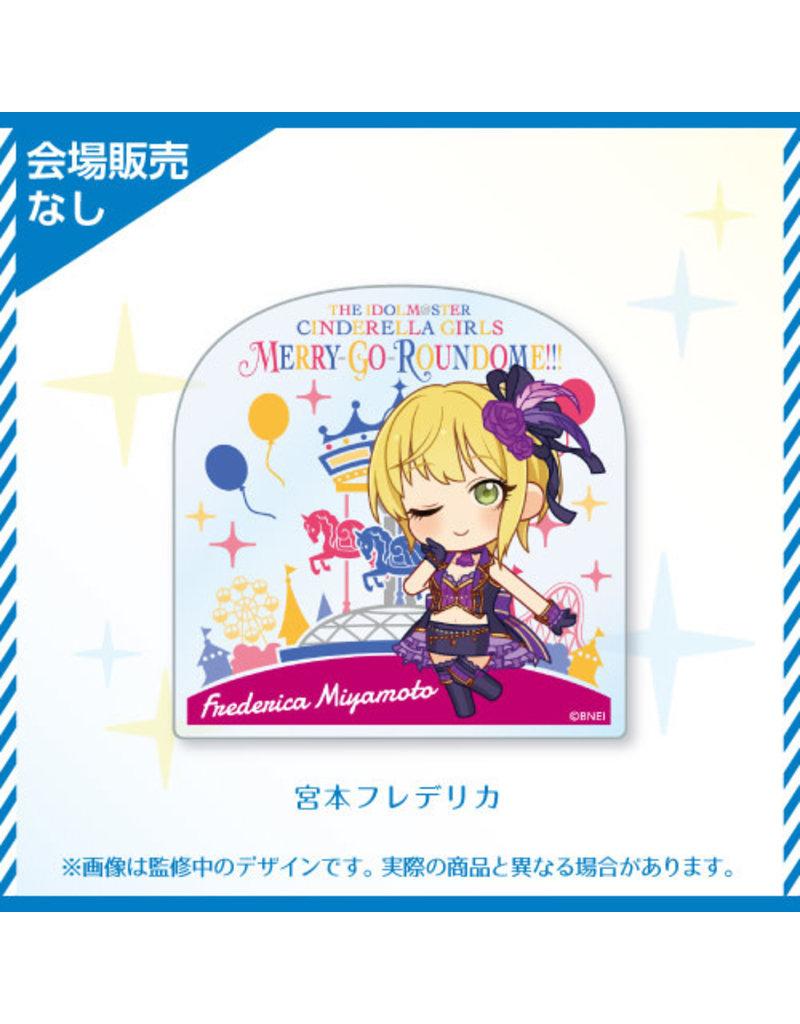 Bandai Namco Idolm@ster Cinderella Girls 6th Live (Cute) Acrylic Badge