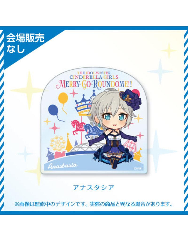 Bandai Namco Idolm@ster Cinderella Girls 6th Live (Cool) Acrylic Badge