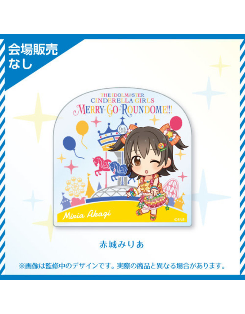 Bandai Namco Idolm@ster Cinderella Girls 6th Live (Passion) Acrylic Badge