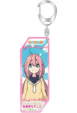 Bellfine Yurucamp Vertical Acrylic Keychain