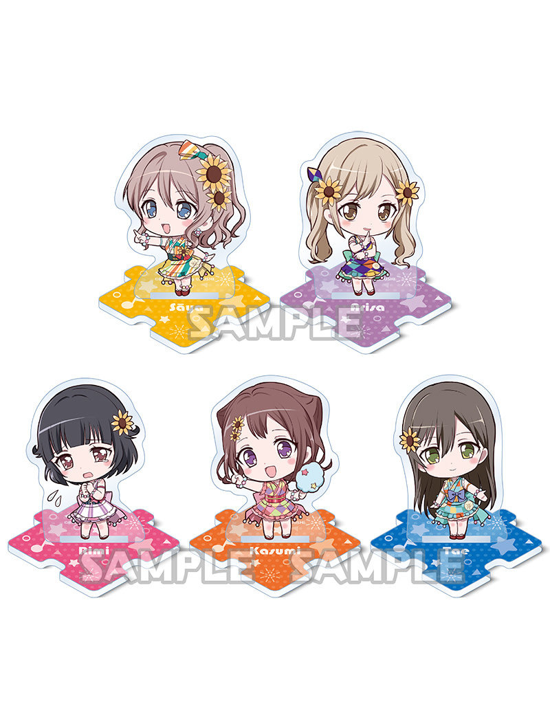 Bushiroad BanG Dream Petite Acrylic Stand Poppin' Party