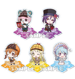 Bushiroad BanG Dream Petite Acrylic Stand Hello Happy World
