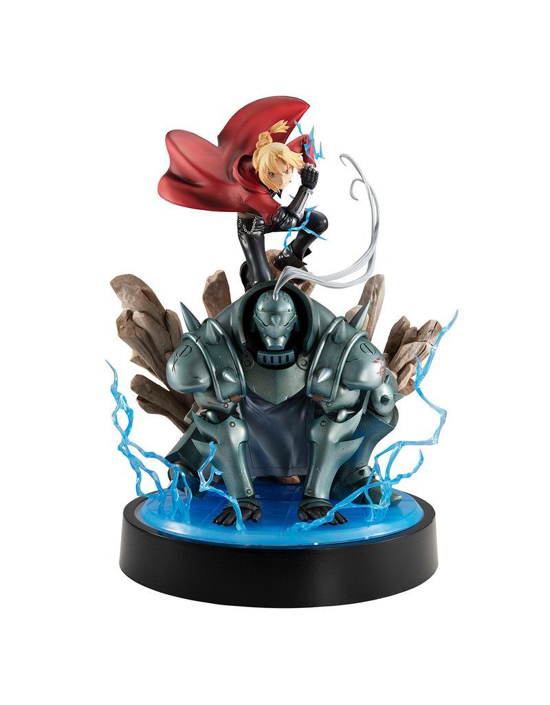 Megahouse Fullmetal Alchemist Edward & Alphonse Elric Precious G.E.M Figure Set Megahouse