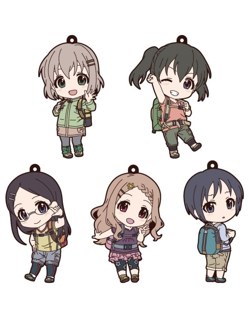 Good Smile Company Encouragement of Climb Third Season: Nendoroid Plus Rubber Keychains