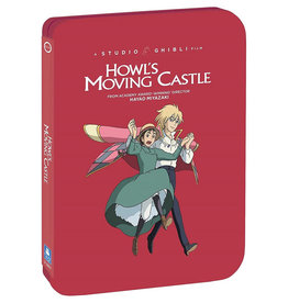 GKids/New Video Group/Eleven Arts Howl's Moving Castle Steelbook Blu-Ray/DVD