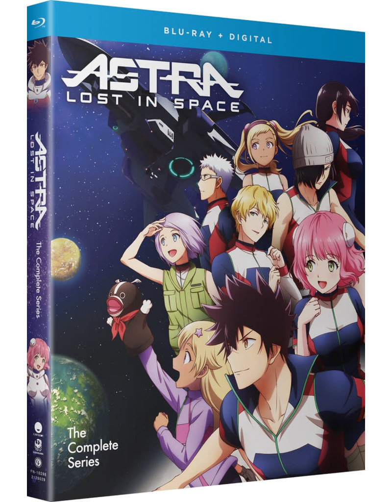 Funimation Entertainment Astra Lost In Space Blu-Ray