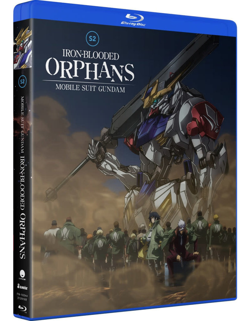 Funimation Entertainment Mobile Suit Gundam Iron-Blooded Orphans S2 Blu-Ray