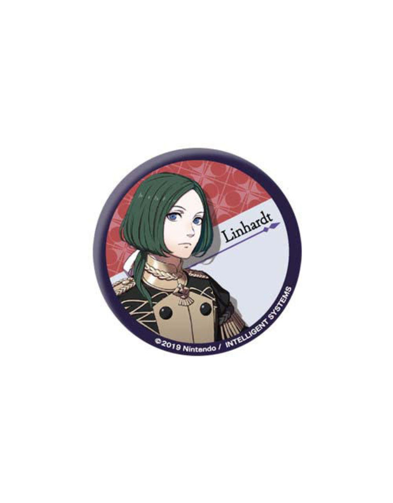 Fire Emblem Three Houses Can Badge Black Eagles