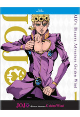 Viz Media JoJo's Bizarre Adventure Golden Wind Set 1 Blu-Ray