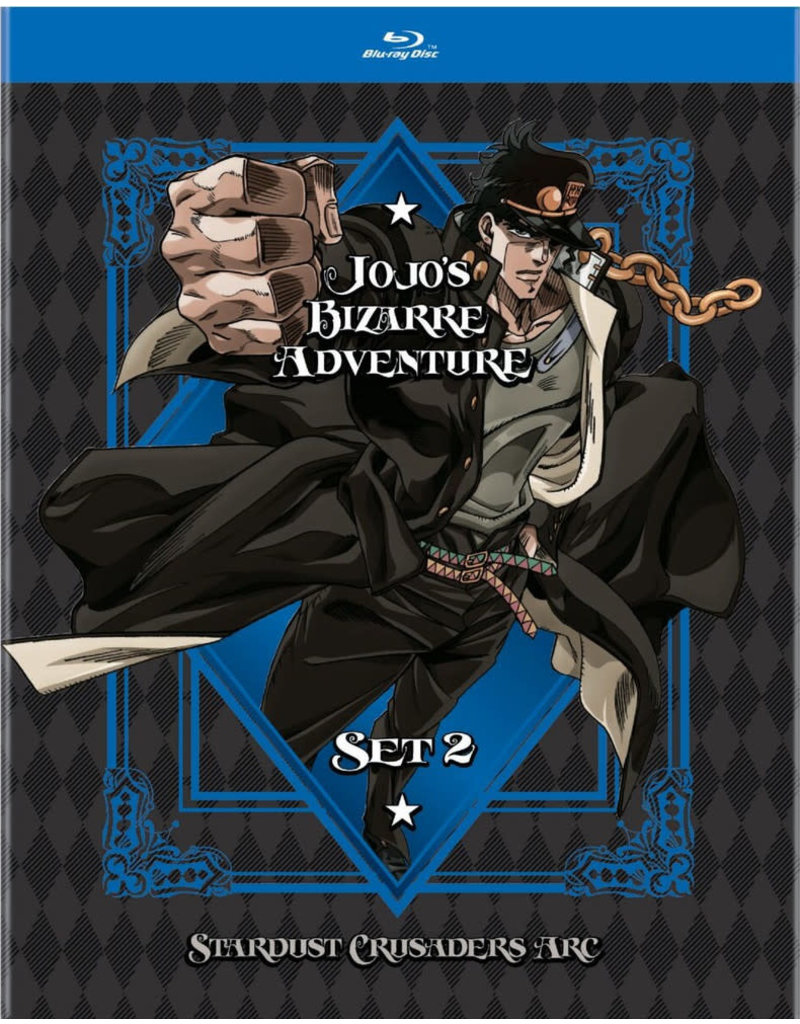 Viz Media JoJo's Bizarre Adventure Set 2 Blu-Ray