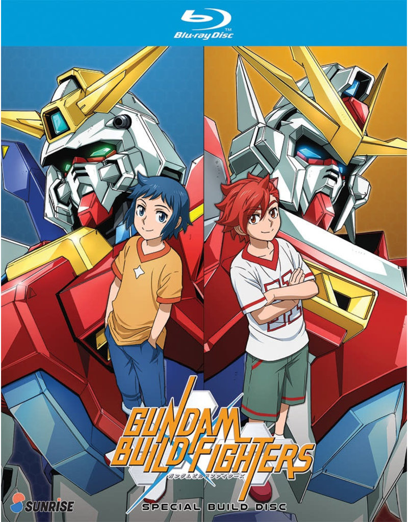 Nozomi Ent/Lucky Penny Gundam Build Fighters Special Build Disc Blu-Ray