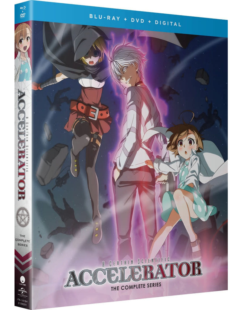 Funimation Entertainment Certain Scientific Accelerator, A Blu-Ray/DVD