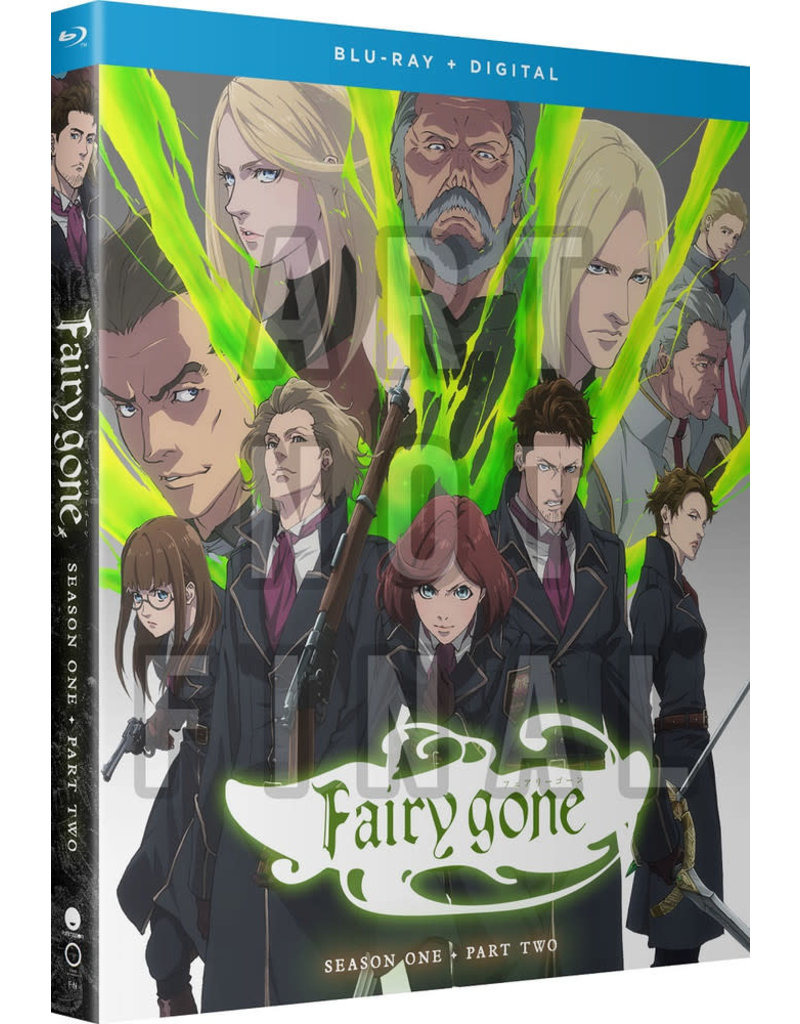Funimation Entertainment Fairy Gone Season 1 Part 2 Blu-Ray