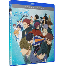 Funimation Entertainment Free! Dive To The Future Season 3 Essentials Blu-Ray