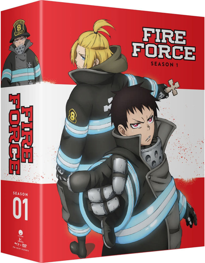 Funimation Entertainment Fire Force Season 1 Part 2 Limited Edition Blu-Ray/DVD