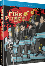 Funimation Entertainment Fire Force Season 1 Part 2 Blu-Ray/DVD