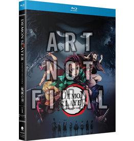 Funimation Entertainment Demon Slayer Kimetsu No Yaiba Part 1 Standard Edition Blu-Ray