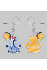 Gift Idolm@ster Million Live Star Elements Outfit Keychain
