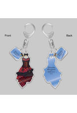 Gift Idolm@ster Million Live D/Zeal Outfit Keychain