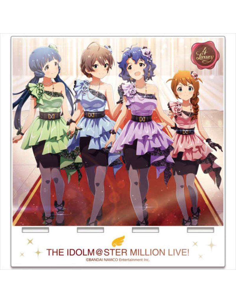 Gift Idolm@ster Million Live Unit Portrait Acrylic Stand