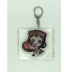 Animate BanG Dream Food Vers. Keychain Animate Fair Poppin' Party