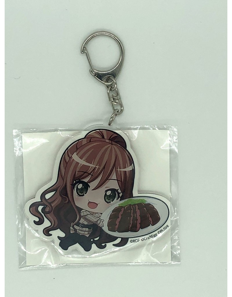 Animate BanG Dream Food Vers. Keychain Animate Fair Roselia