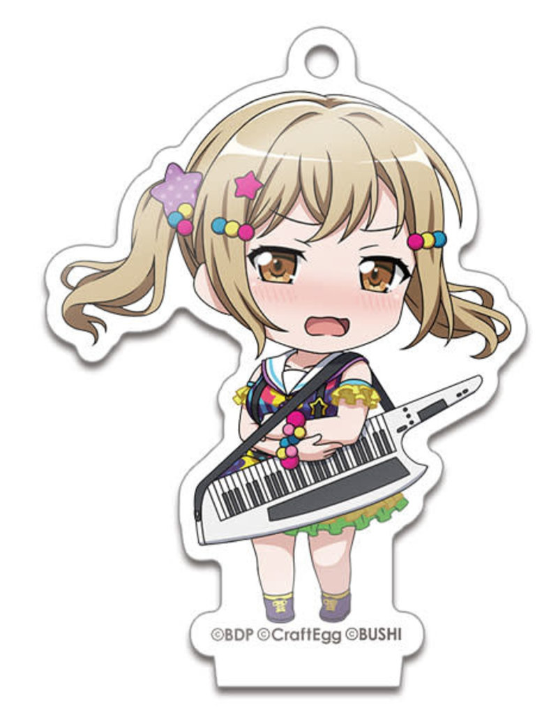 Good Smile Company BanG Dream! Nendoroid Plus Acrylic Stand/Keychain Poppin' Party