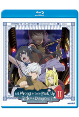Sentai Filmworks Is It Wrong To Try To Pick Up Girls In A Dungeon?! S2 Blu-Ray