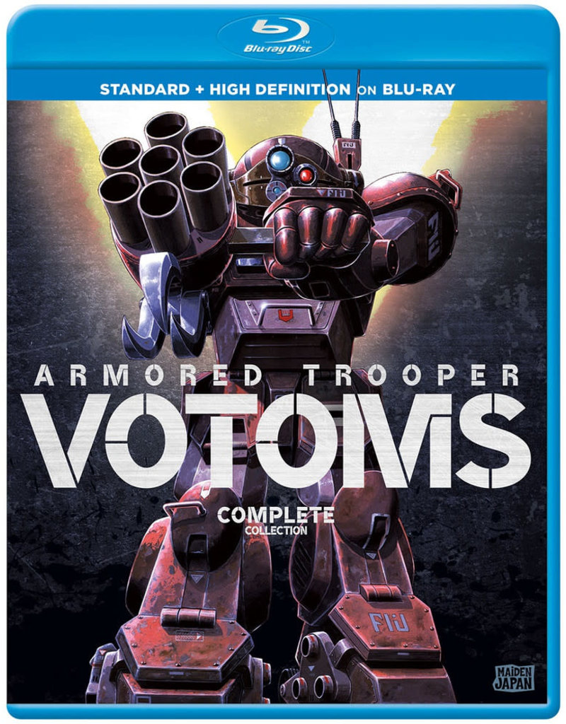 Sentai Filmworks Armored Trooper VOTOMS Ultimate Collection Blu-Ray