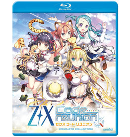 Sentai Filmworks Z/X Code Reunion Blu-Ray