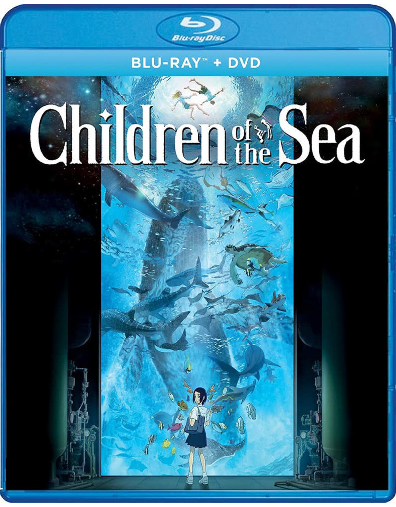 GKids/New Video Group/Eleven Arts Children Of The Sea Blu-Ray/DVD